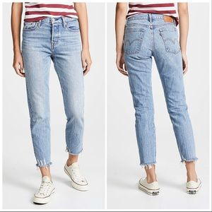 Levi's Wedgie Icon Cropped Straight Leg Jeans 29